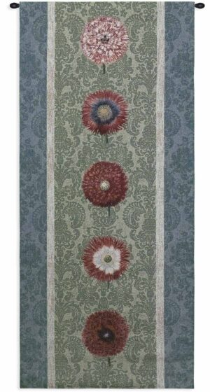 "Floating Botanicals Green Bay | 26"" x 57"" 