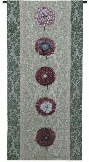 "Floating Botanicals Mesclun | 26"" x 57"" 