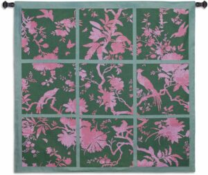 """Floral Division Sage/Pink 