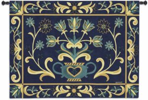 "Floral Heritage | 53"" x 40"" 