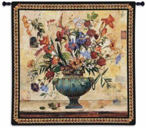 "Floral Radiance | 53"" x 53"" 