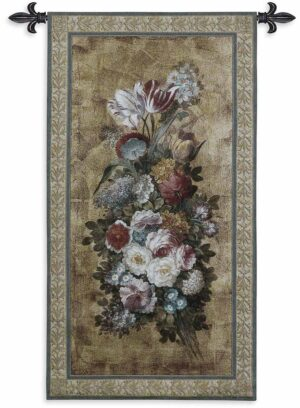 "Floral Reflections II | 26"" x 49"" 