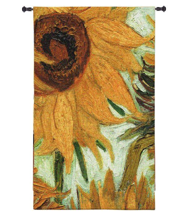 Flowers Of The Sun Tapestry Wall Hanging Vincent Van Gogh