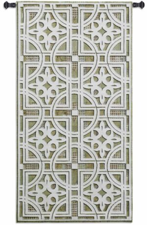"Fretwork | 26"" x 50"" 