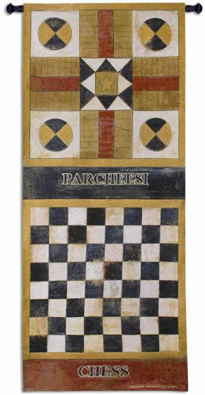 Game On I | 26 x 65 | Woven Tapestry