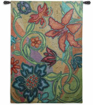 "Garden Party Mosaic | 52"" x 72"" 