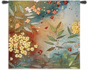"Gardens in the Mist | 53"" x 54"" 
