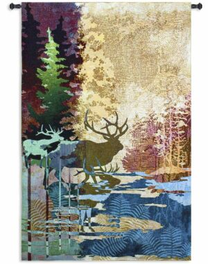 "Ghosts of the Tall Timber | 53"" x 83"" 