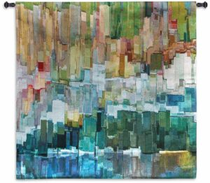 Glacier Bay III by James Burghardt | Tapestry | 44 x 44