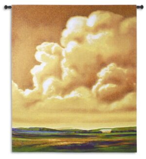 Golden Hour | Sunset Landscape Art Tapestry | 65 x 52