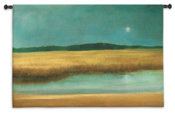 Harvest Moon | Contemporary Woven Tapestry | 35 x 53
