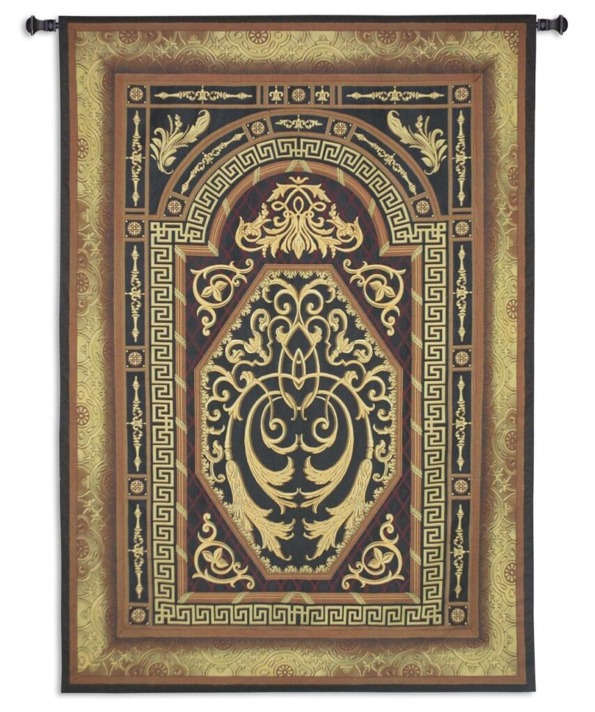 Imperial Ornament Extra-Large Tapestry Wall Hanging