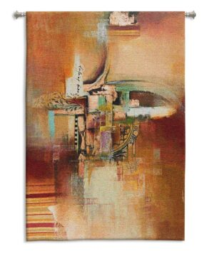 Incantation Two | Abstract Art Tapestry | 53 x 35