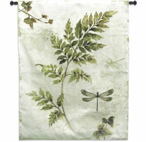 Ivies And Ferns III - Lisa Audit | Tapestry | 40.5 x 52