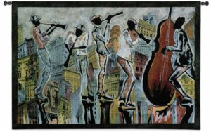 "Jazz Reflections I | 53"" x 36"" 