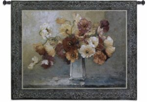 "Jennie Tomao Floral Summer Dreams | 53"" x 43"" 