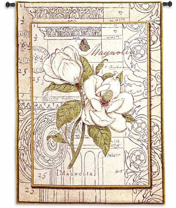 "Magnolia Etching | 30"" x 41"" 