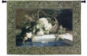 Magnolia Reflections Traditional | 38 x 53 | Woven Tapestry