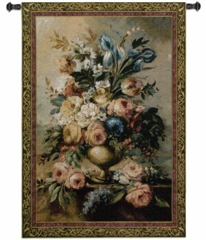 "Mother's Floral Bouquet | 53"" x 76"" 