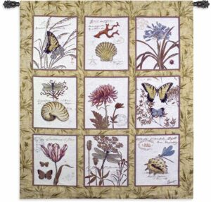"Natures Curiosities | 53"" x 62"" 