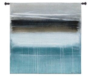 "Nordic Horizon by Heather McAlpine | Abstract Tapestry | 53"" x 53"""