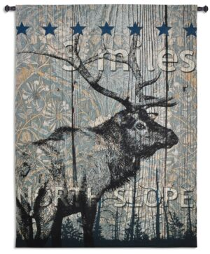 North Slope   Country & Rustic Wall Tapestry   72 x 53