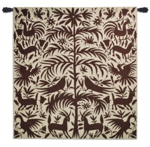 Otomi Earth | Southwestern Wall Tapestry | 58 x 53
