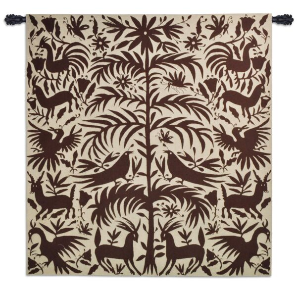 Otomi Earth   Southwestern Wall Tapestry   58 x 53