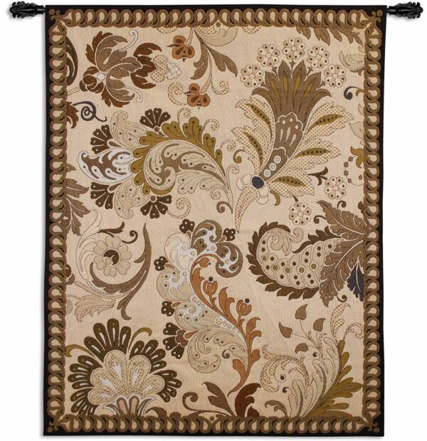 Paisley Applique | 41 x 53 | Woven Tapestry