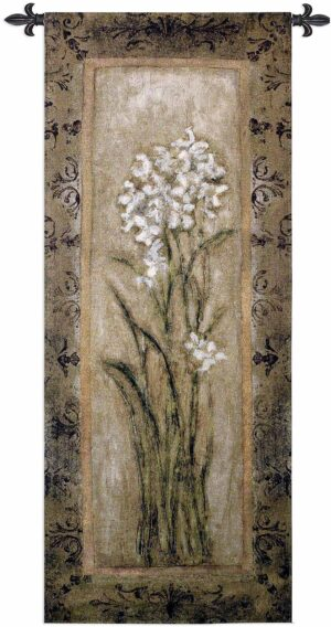 Paperwhites II | 22 x 53 | Woven Hanging Tapestry