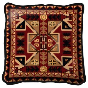 Paraguay Southwest Throw Pillow | 17 x 17