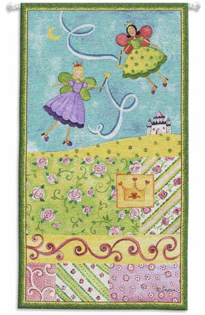 Patchwork Fairy I | 25 x 44 | Children's Tapestry