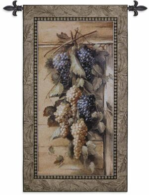 "Poetic Grapes | 26"" x 47"" 
