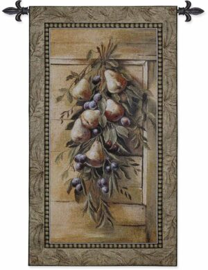 "Poetic Pears | 26"" x 47"" 