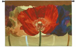 "Poppy Tango | 52"" x 35"" 
