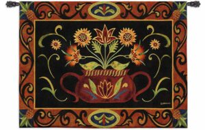 "Potted Folk | 53"" x 39"" 