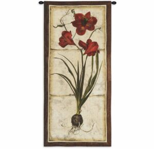 "Red Tulip Study I | 26"" x 55"" 