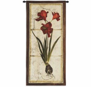 "Red Tulip Study II | 26"" x 55"" 
