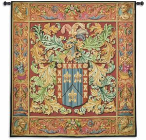 Regal Crest | 62 x 69 | Woven Tapestry Decor