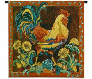 """Rooster Rustic 