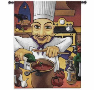"Salvatore (The Chef) by Will Rafuse | 37"" x 53"" 