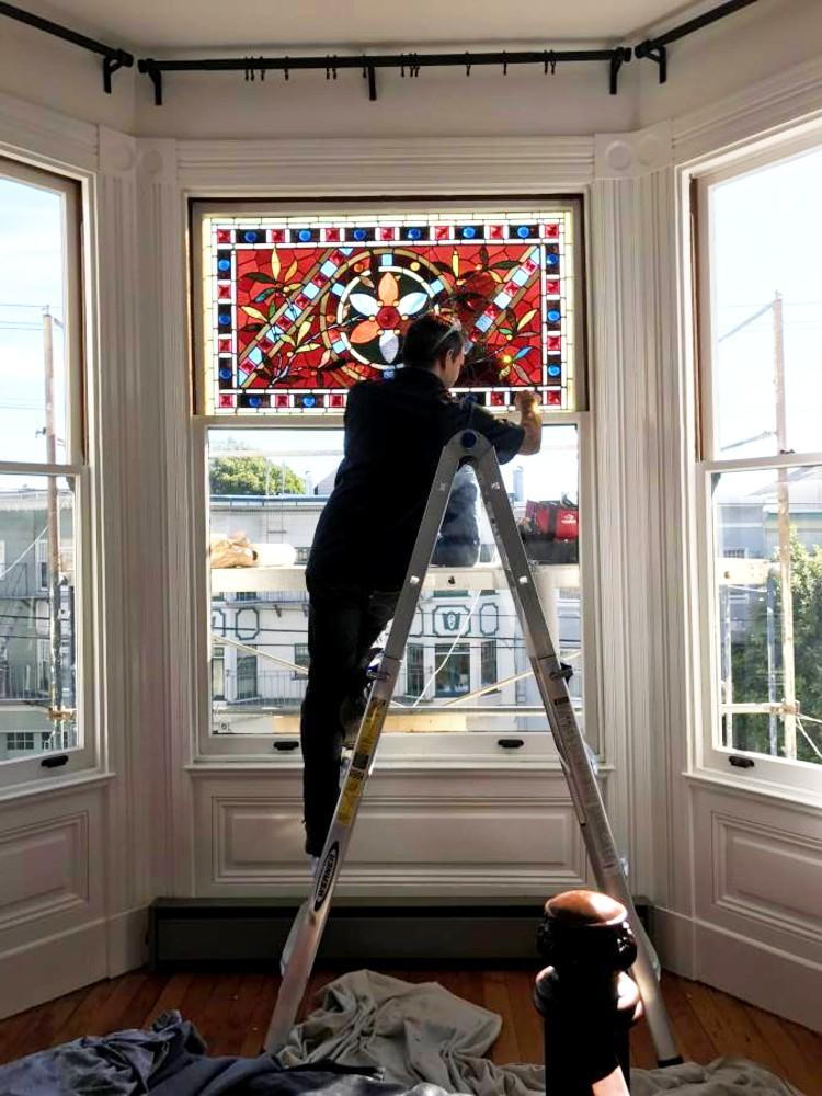 San Francisco Stained Glass Window Restoration Project
