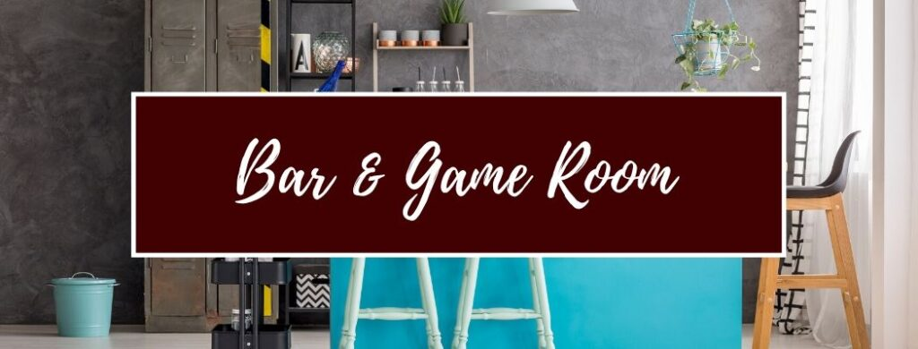Shop Bar and Game Room Furniture