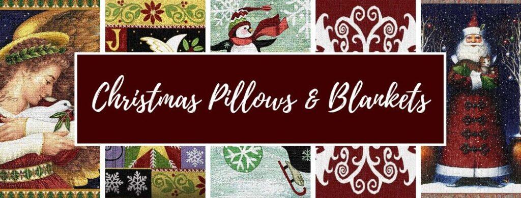 Shop Christmas Pillows and Blankets