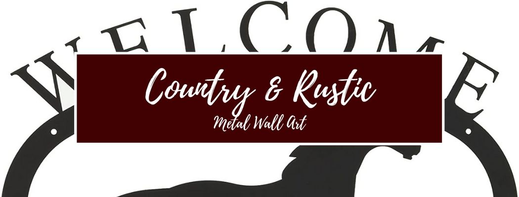 Shop Country and Rustic Metal Wall Art