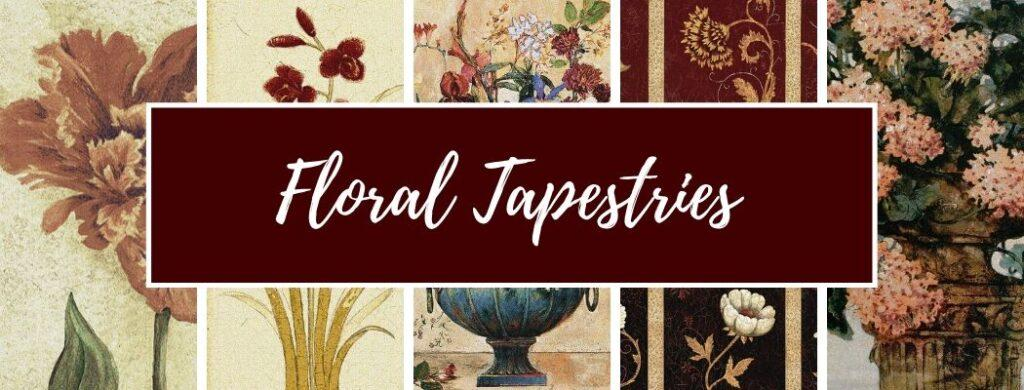 Shop Floral Tapestries
