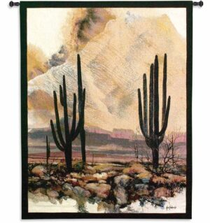 "Sonoran Sentinels (Cactus) | 40"" x 53"" 