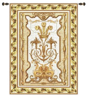 "Sovereign Chablis | Extra-Large Traditional Tapestry | 145"" x 63"""