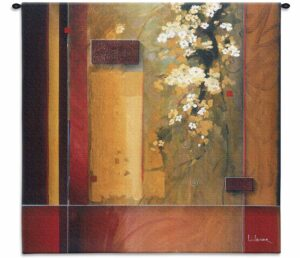Art Summer Bloom (Small) | 31 x 31 | Woven Tapestry Hanging