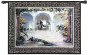 """Sunlit Courtyard 